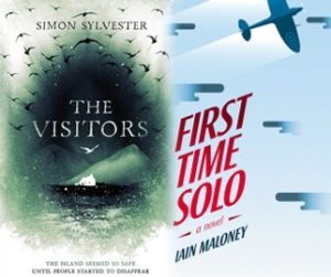 Simon Sylvester and Iain Maloney book covers