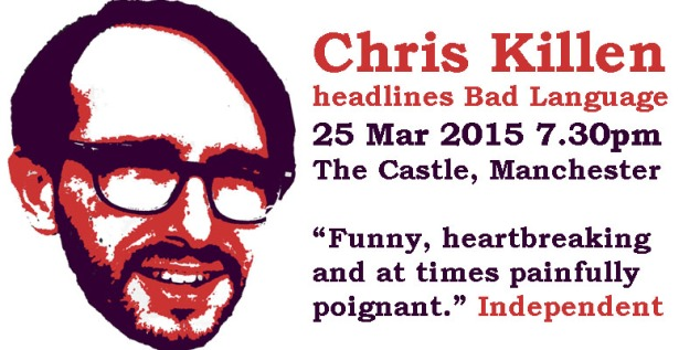 Chris Killen headlines Bad Language