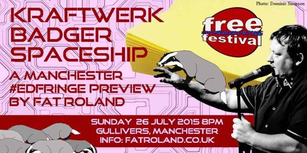 Kraftwerk Badger Spaceship 26th July 2015